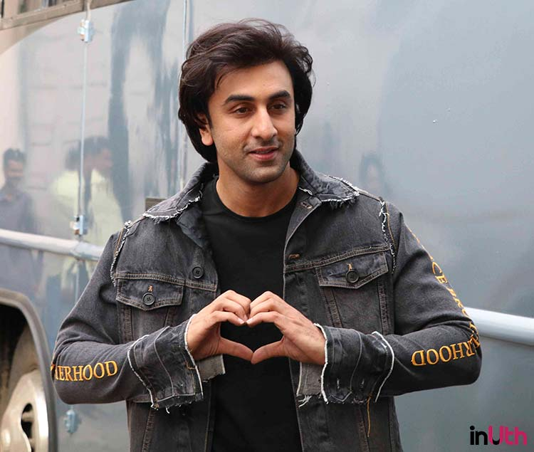 Ranbir Kapoor during the promotions of Jagga Jasoos