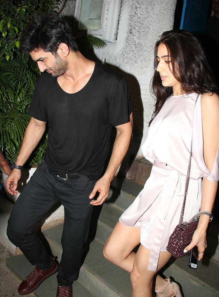 Sara Ali Khan and Sushant Singh Rajput