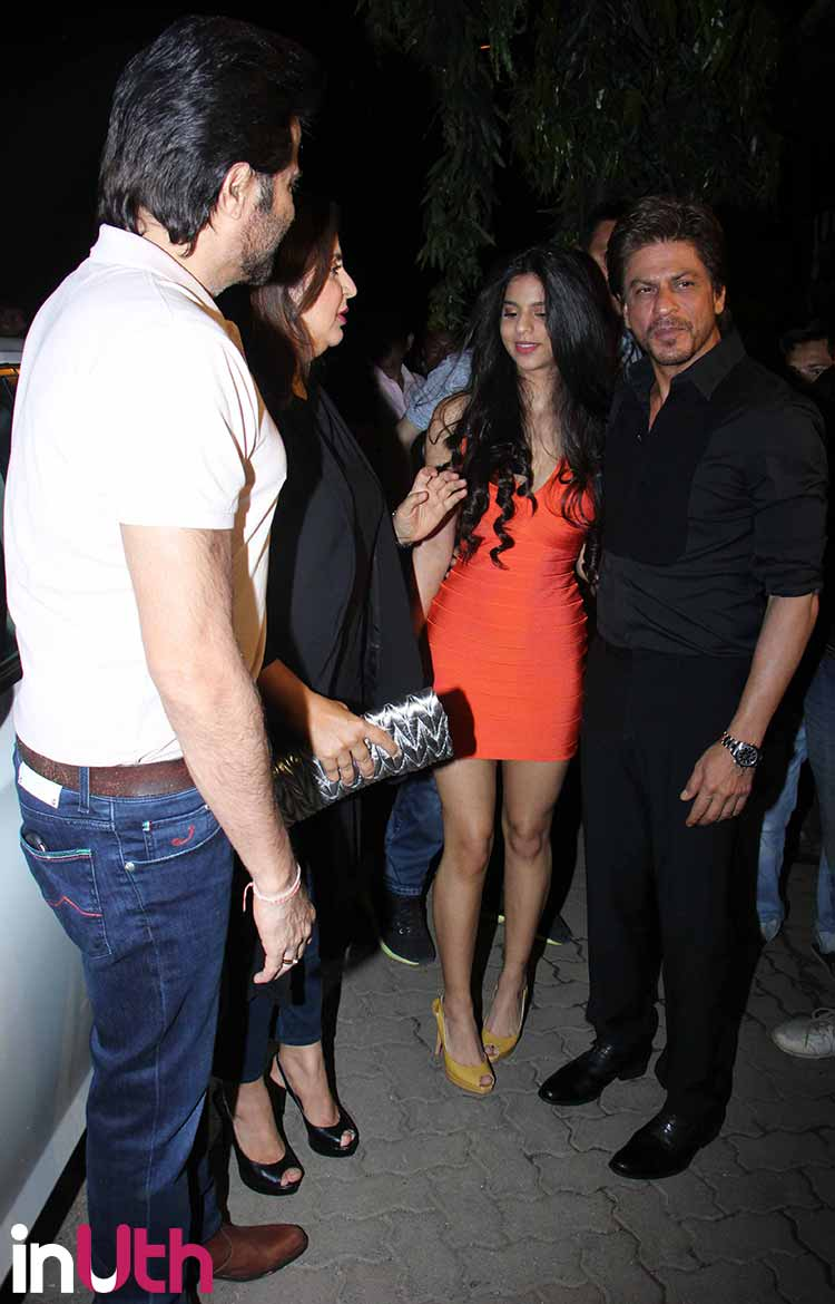Suhana Khan looked surreal at the launch of Arth restaurant