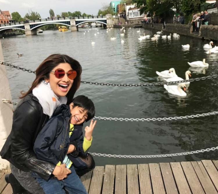 Shilpa Shetty's son Viaan Raj Kundra