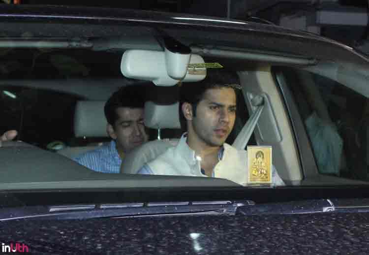 Varun Dhawan at Salman Khan's Eid party