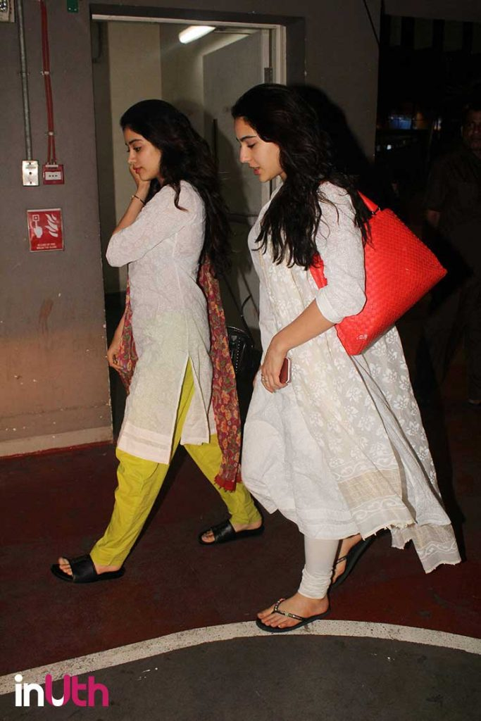 While Jhanvi Kapoor's airport look was a miss, Sara Ali Khan nailed it