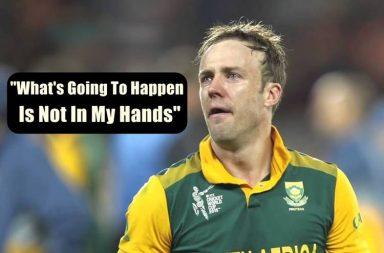 AB de Villiers, AB de Villiers retirement