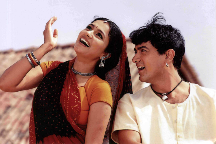 Aamir Khan, Gracy Singh, Lagaan