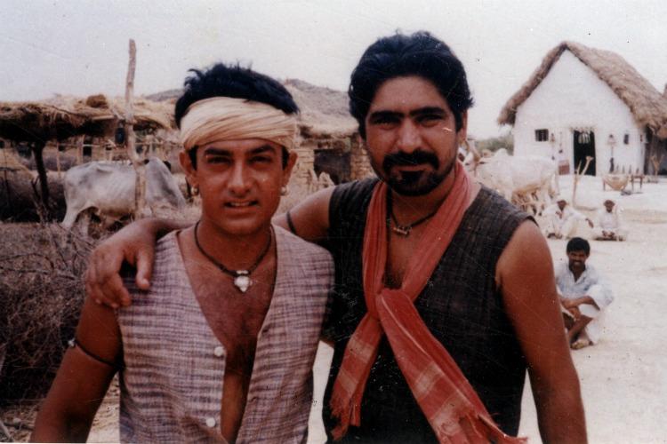 Aamir Khan, Yashpal Sharma, Lagaan