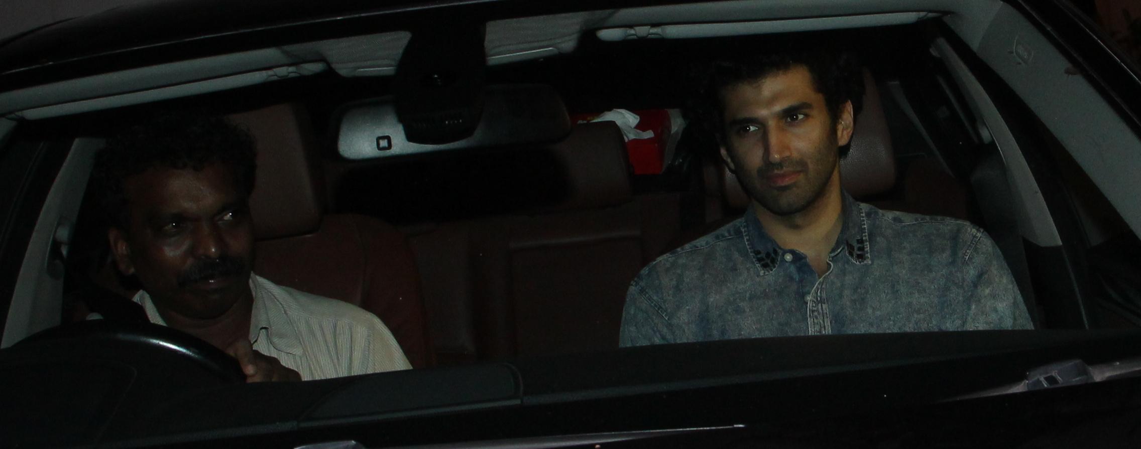 Aditya Roy Kapoor at Karan Johar's Party