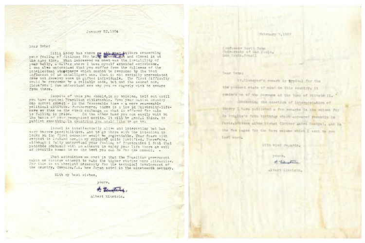 Albert Einstein's letter on quantum theory and God to be ...