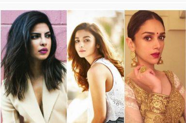 Alia Bhatt, Alia Bhatt movies, Priyanka Chopra songs, Shraddha Kapoor songs, Aditi Rao Hydari song