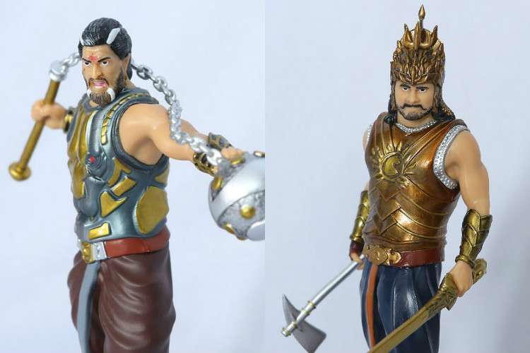 Yay! Prabhas Baahubali and Bhallaladeva Indian superhero figurines to enter toy market soon
