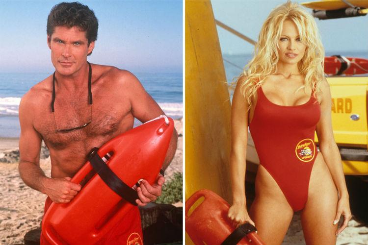 Baywatch TV Show, David Hasselhoff, Pamela Anderson
