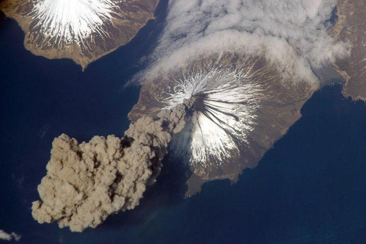 nasa, volcano