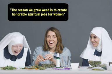 Weed Nuns Aubrey Plaza WatchCut video