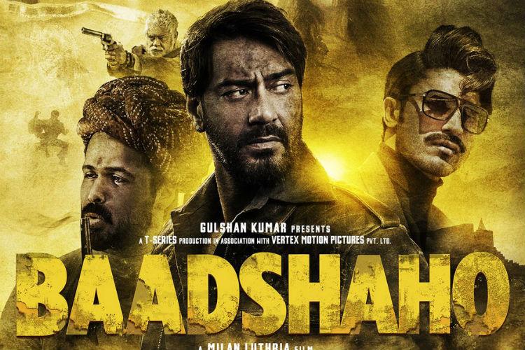 Ajay Devgn and Emraan Hashmi, Baadshaho poster