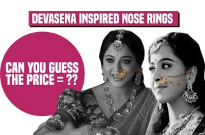 Baahubali 2's Devasena-inspired nose rings