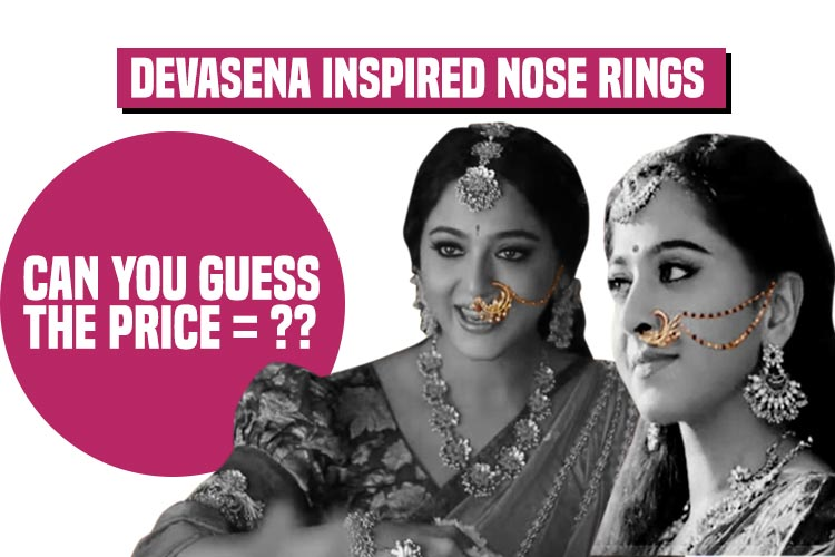 Anushka Shetty aka Devasena gives us major nose pins goals with her look in Baahubali 2 — See photos