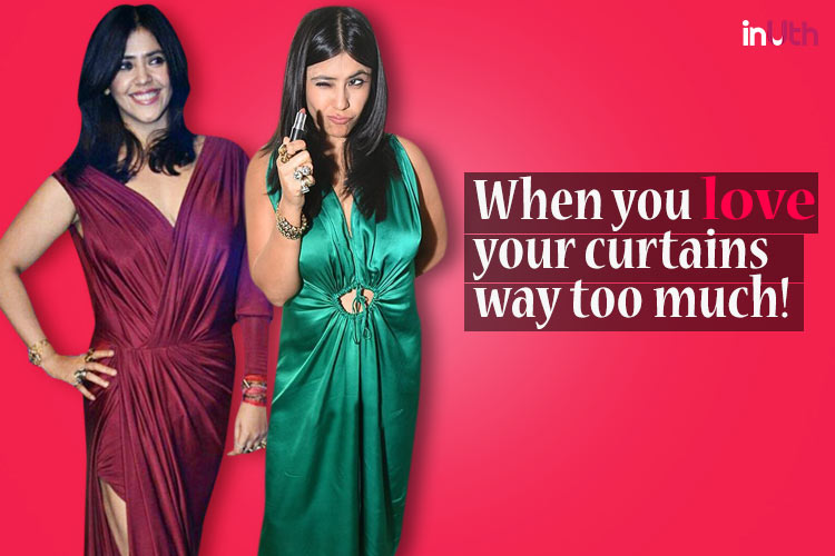 Dear Ekta Kapoor, your fashion choices are outright disastrous and that green dress crosses the disappointment level