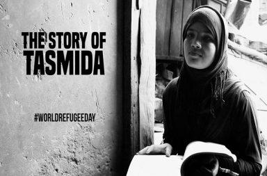Tasmida, World Refugee Day, Refugee, Refugee in India, Rohingya, Rohingya Muslim, Rohingyas in India, Refugee Crisis, Refugee Girl, Education