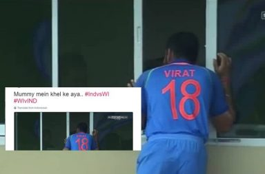 Virat Kohli, India vs West Indies, Twitter, funny