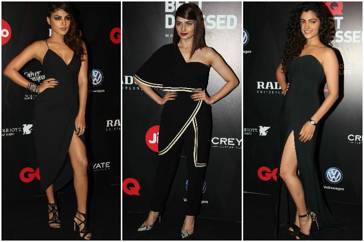Black fever dominated GQ Awards: Yami Gautam, Prachi Desai among bestdressed