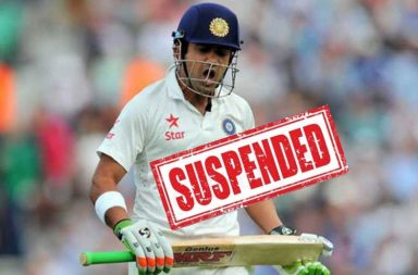 Gautam Gambhir, KP Bhaskar, suspended
