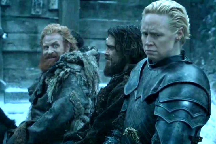 Game of Thrones, Brienne, Tormund