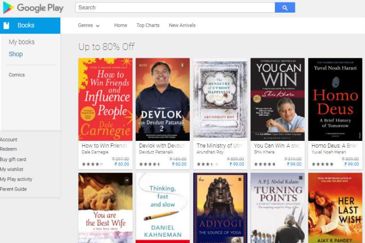 Buy & download books from Google Play - Android - Google ...