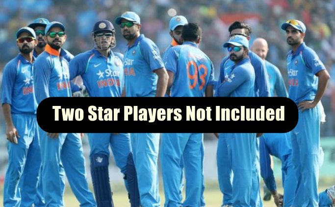 Indian Team Selection For West Indies Tour