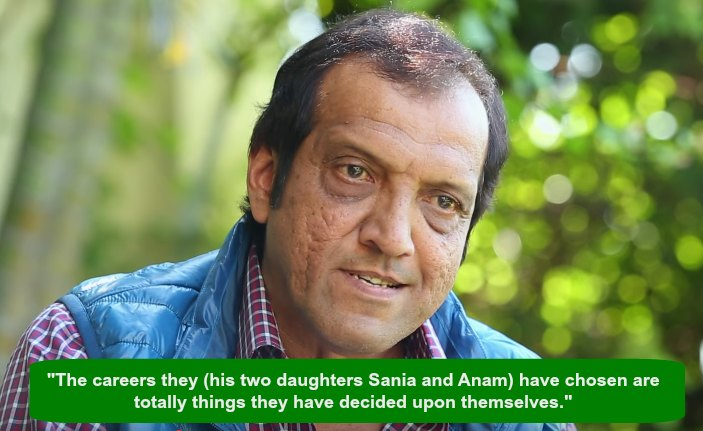 Sania Mirza's father, Imran Mirza