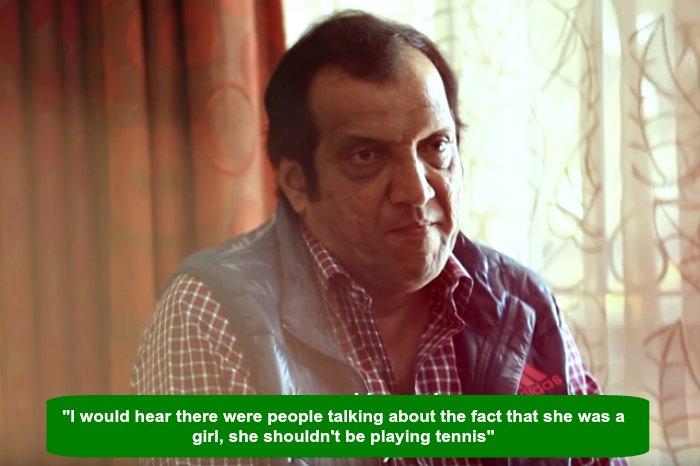 Sania Mirza's father, Imran MirzaSania Mirza's father, Imran Mirza