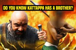 All you need to know about Kattappa's younger brother Shivappa who wasn't in the Baahubali films