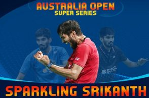 Kidambi Srikanth, Chen Long, Australian Open Super Series 2017 final