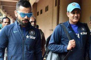 Virat Kohli, Anil Kumble, India Head Coach