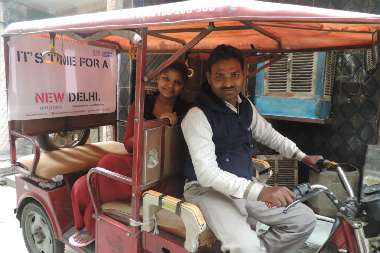Meet the e-rickshaw driver who is helping her daughter in making cities safer for women