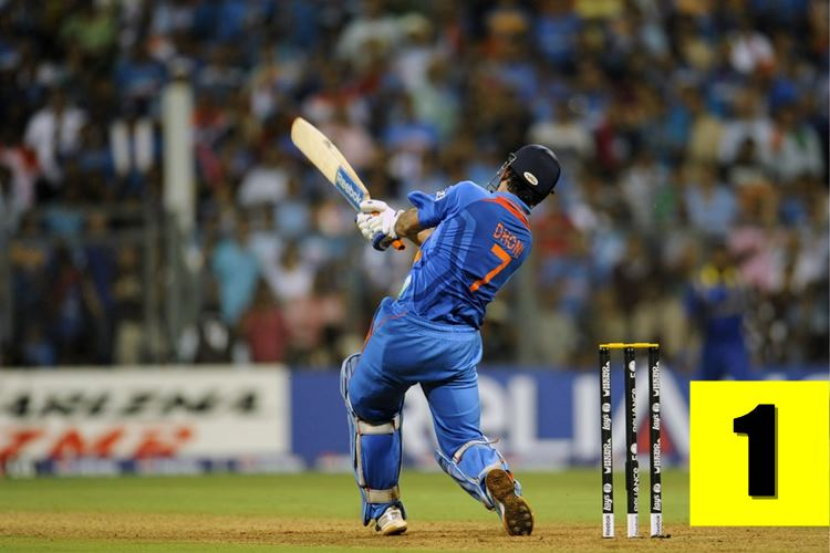MS Dhoni, Most not outs in international cricket
