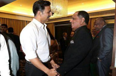Pahlaj Nihalani and Akshay Kumar