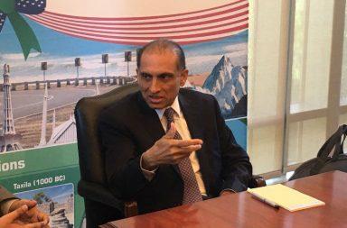 Aizaz Ahmad Chaudhry, Pakistan Ambassador to the US (Photo: Twitter/Pakistan Embassy, DC)