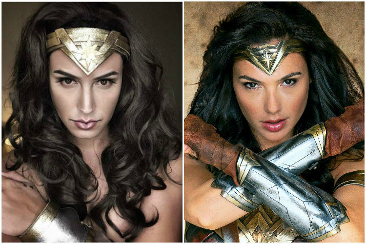 Paolo Ballesteros, Wonder Woman, Gal Gadot, Makeup Transformation