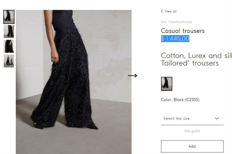 Priyanka Chopra Pants Cost