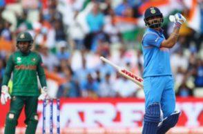 Virat Kohli, India vs Bangladesh, ICC Champions Trophy 2017