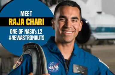 Raja Chari (Photo: Twitter/NASA_Astronauts )