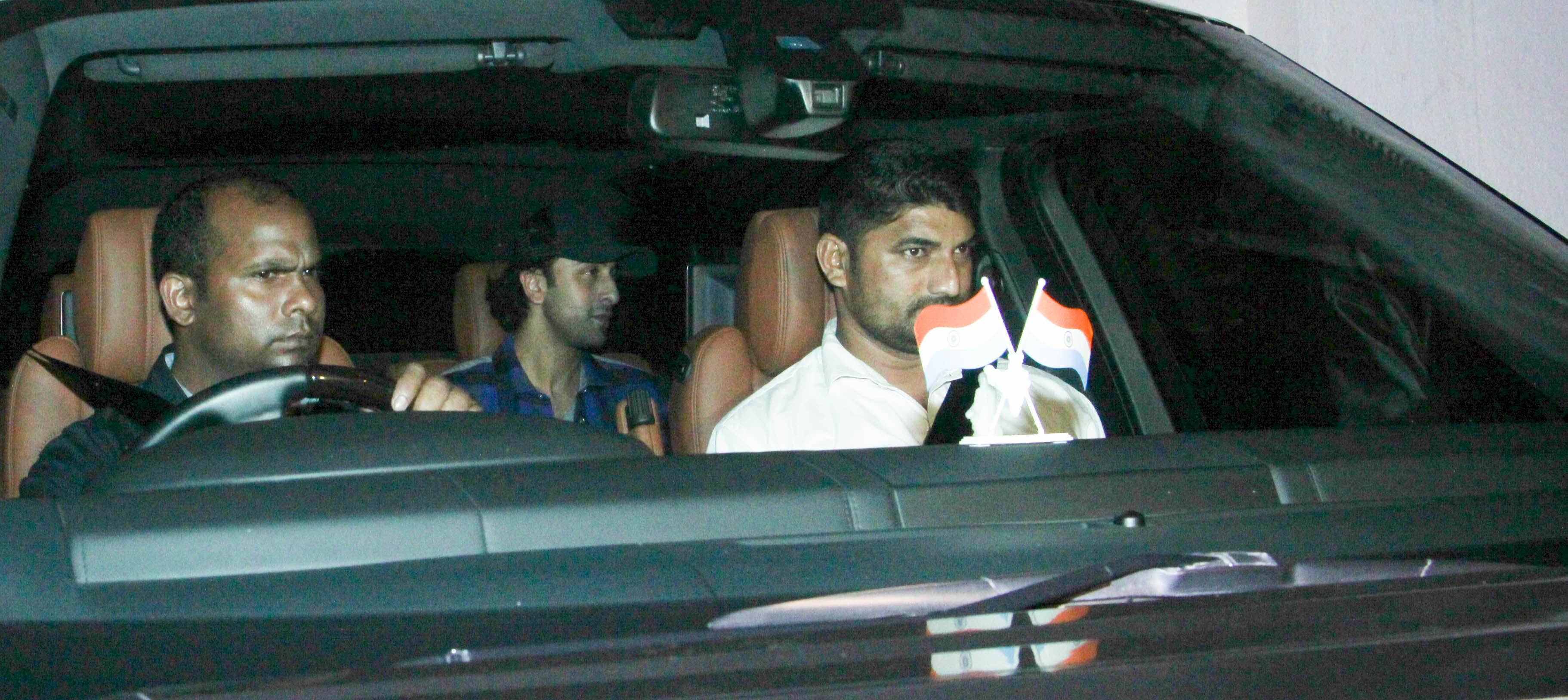 Ranbir Kapoor at Karan Johar's party