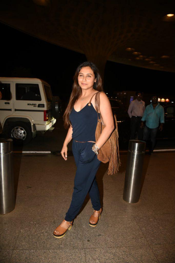 Rani Mukerji, Rani Mukerji fitness, Rani Mukerji at airport