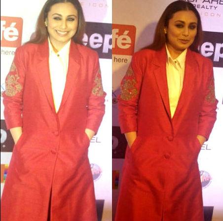 Rani Mukerji at ht stylish awards