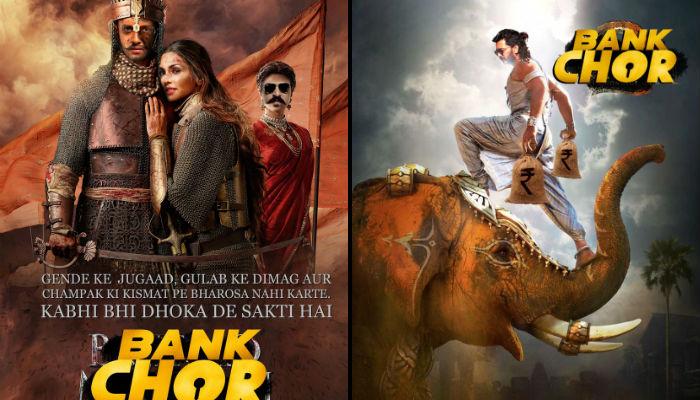 Riteish Deshmukh, Bank Chor, posters