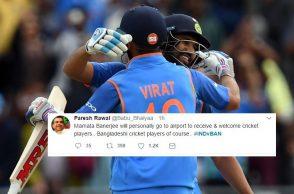 India vs Bangladesh, ICC Champions Trophy 2017, Virat Kohli, Rohit Sharma