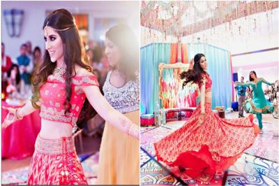 Miss India USA Natasha Arora, wedding sangeet dance Natasha Arora