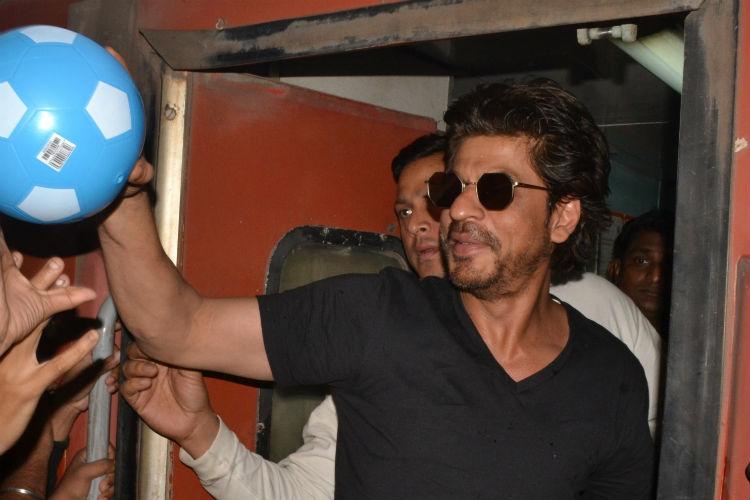 Shah Rukh Khan, Vadodara