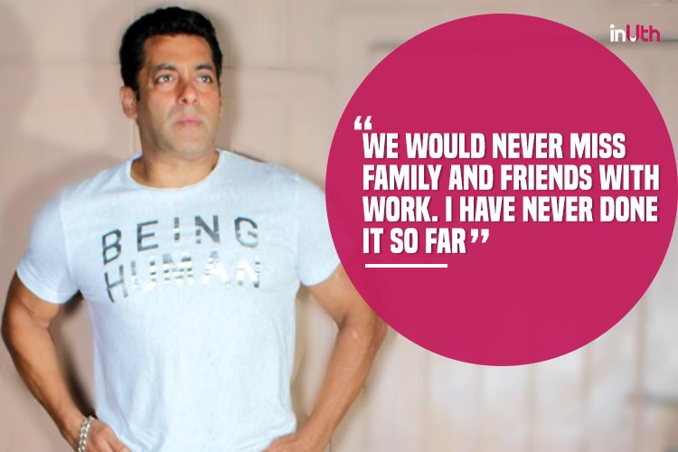 Salman Khan talks on nepotsim, Salman Khan Tubelight