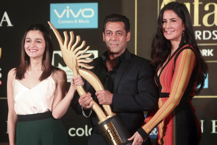 Salman Khan, Alia Bhatt, Katrina Kaif