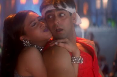 Salman Khan, Karisma Kapoor, Tana Tan, Judwaa